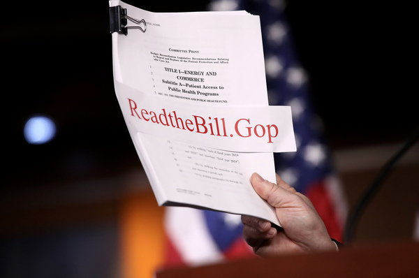 Republicans on Monday evening unveiled their long-awaited plan to repeal and replace the Affordable Care Act.