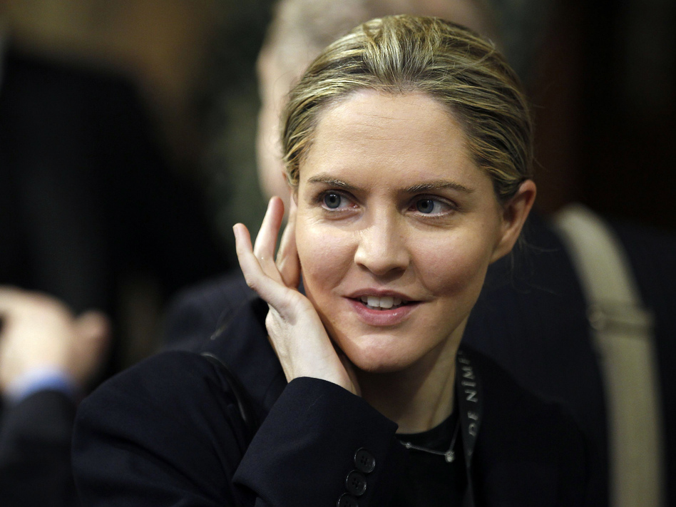 Louise Mensch, founder of the political site Heat Street and a former member of Parliament, wrote about the FBI's investigation into activities by Trump campaign figures with ties to Russia. (Stefan Wemuth/WPA Pool/Getty Images)