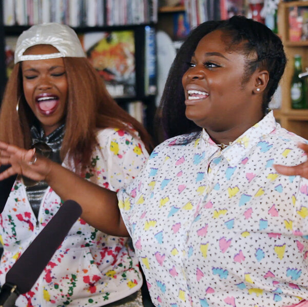 Tank And The Bangas: Tiny Desk Concert