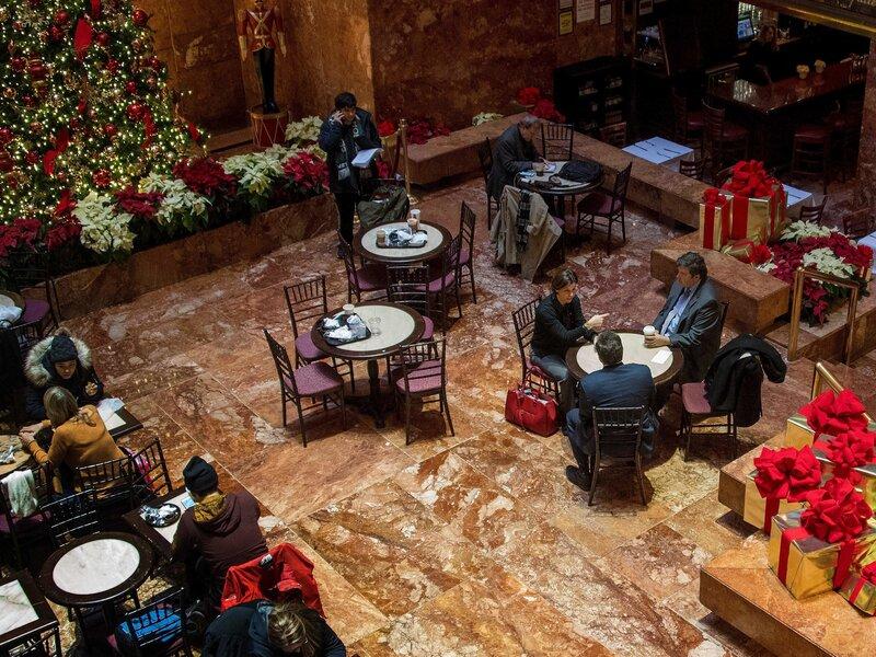 Falling Stars Negative Yelp Reviews Target Trump Restaurants