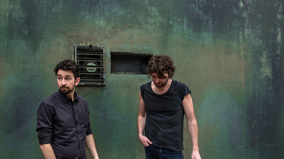 Japandroids is drummer David Prowse (left) and guitarist Brian King. The duo's latest album is <em>Near to the Wild Heart of Life.</em>