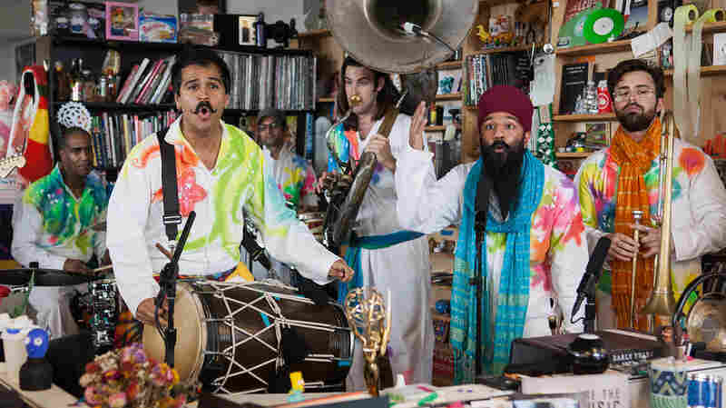 Tiny Desk Special Edition: Red Baraat's Holi Celebration