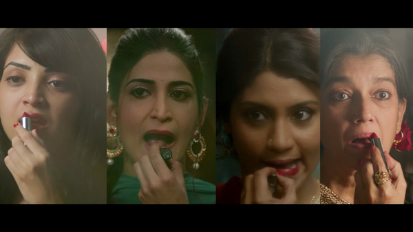 The inner lives of four women from different walks of life in India are explored in Lipstick Under My Burka.