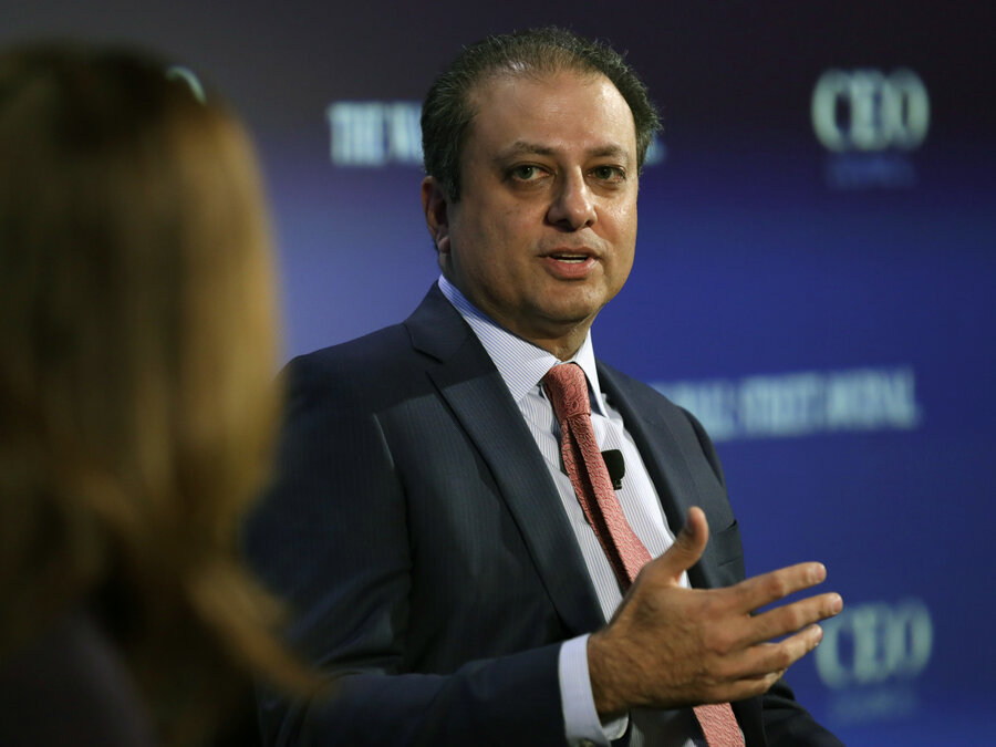 Image result for preet bharara on TV
