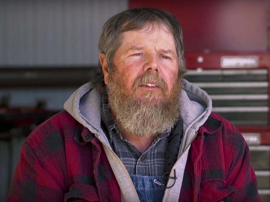 Darvin Bentlage is a fourth-generation farmer from Golden City, Mo. He was uninsured before the ACA and featured in a video from the Department of Health and Human Services supporting the law. (Screenshot/Department of Health and Human Services)