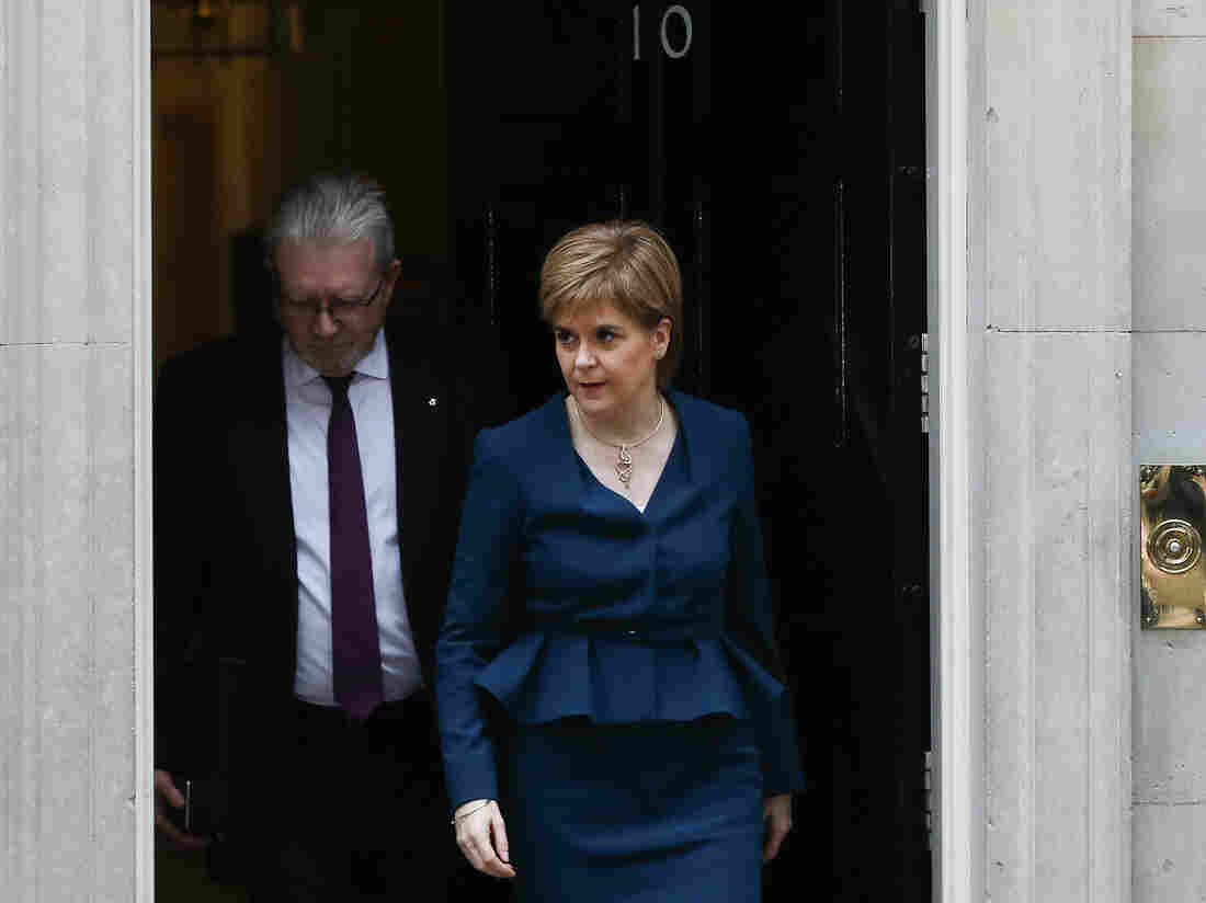 Sturgeon Vows to Hold Second Independence Referendum after Brexit