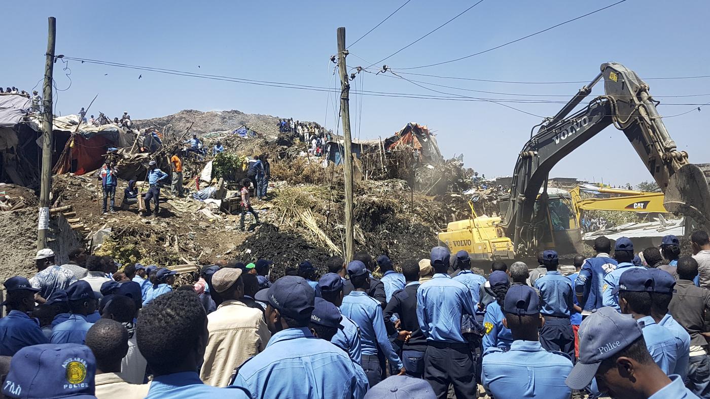 Dozens Dead Or Missing In Landslide At Ethiopian Garbage Dump