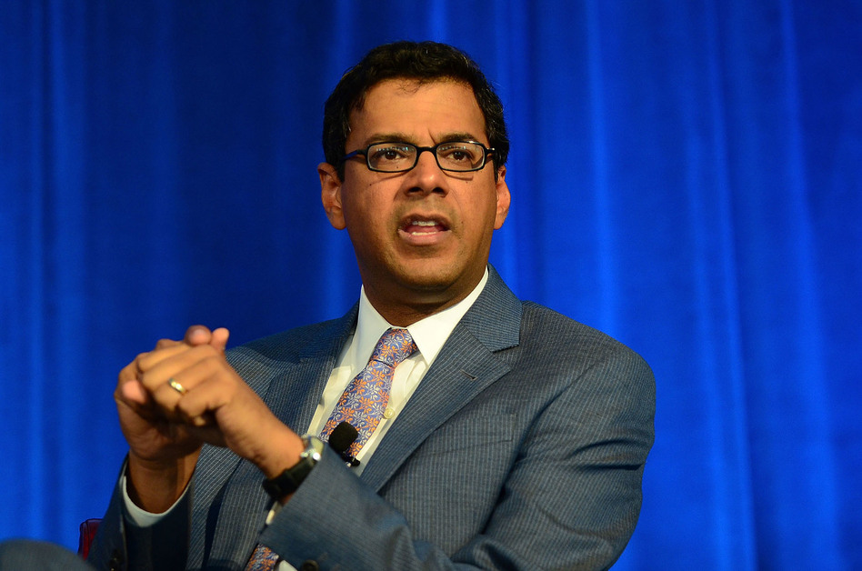 Surgeon and writer Atul Gawande has spoken out against the Republican plan to repeal parts of the Affordable Care Act. (Lisa Lake/Getty Images for Geisinger Healt/Getty Images)