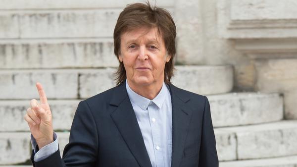 Paul McCartney during Paris Fashion Week, 2016.