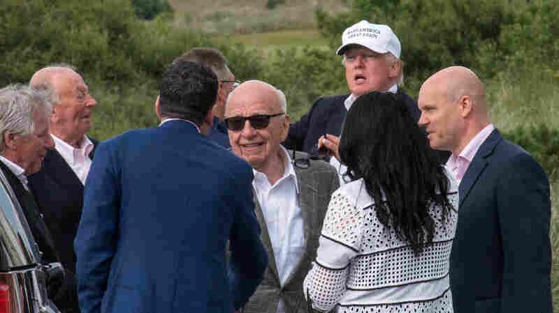 Murdoch And Trump, An Alliance Of Mutual Interest