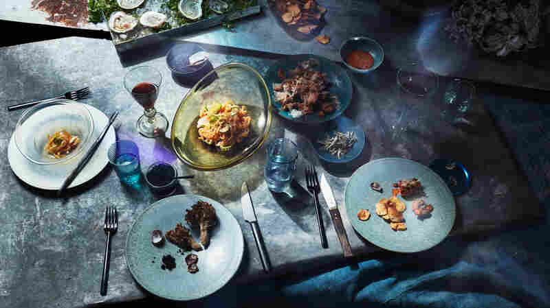 Artist Sets Futuristic Dinner Party In World Reshaped By Rising Seas