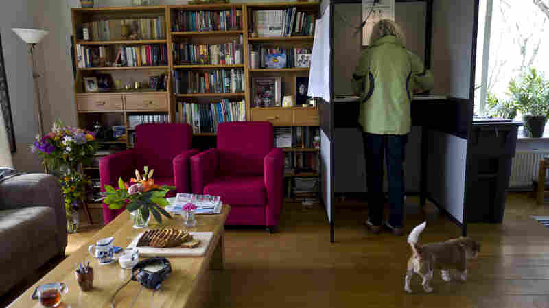 Yes, There Is A Voting Booth In This Dutch Family's Living Room