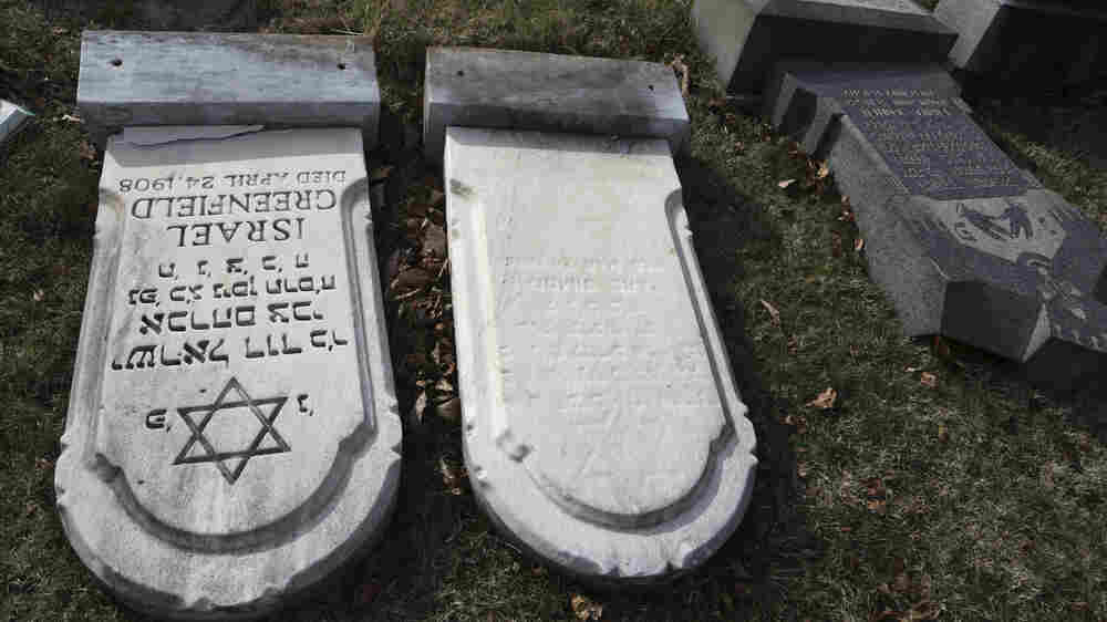 Searching For Meaning After A Jewish Cemetery Is Desecrated