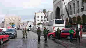 Suicide Bomber Strikes Damascus' Main Judicial Building, Killing Dozens