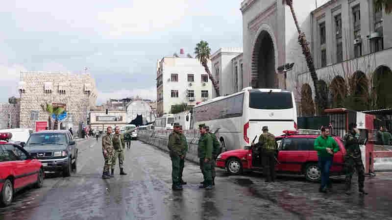 Suicide Bomber Strikes Damascus' Main Judicial Building, Killing Dozens