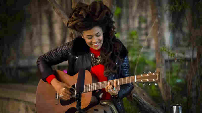Valerie June Takes Us Across The 'Astral Plane' In A Church Courtyard