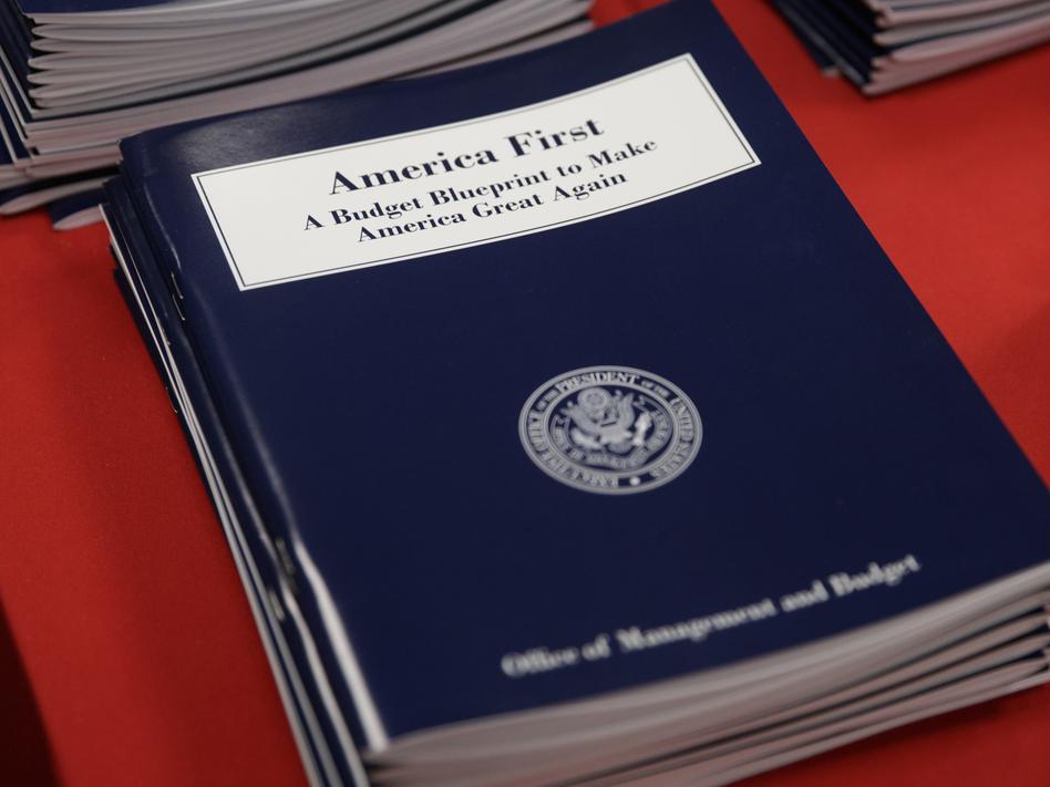 "President Trump's ""America First"" budget blueprint was released on Thursday. (J. Scott Applewhite/AP)"