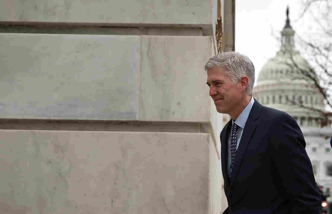 Neil Gorsuch's Supreme Court nomination hearings