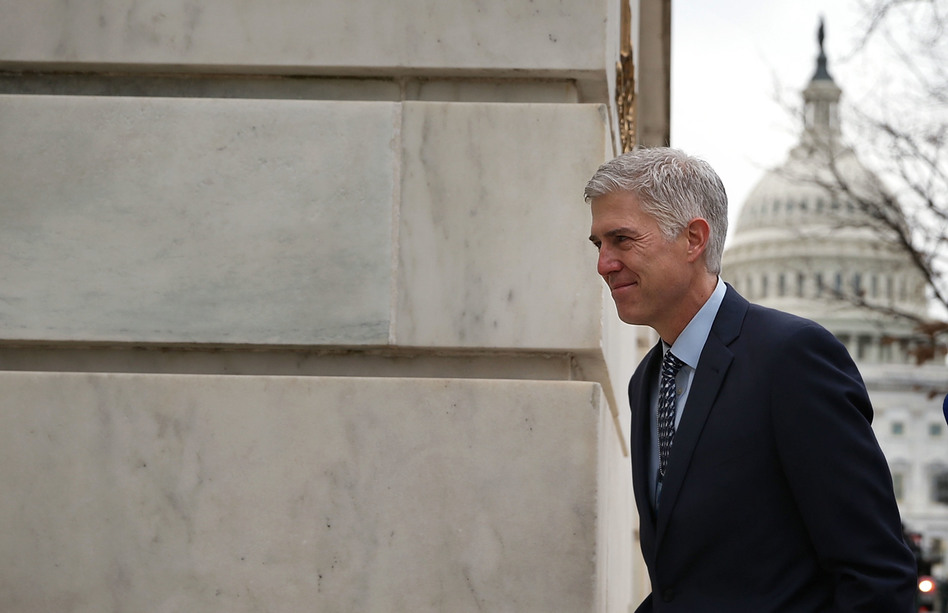 Supreme Court nominee Judge Neil Gorsuch faces his Senate confirmation hearing on Monday. A likely topic: regulation of federal agencies. (Alex Wong/Getty Images)