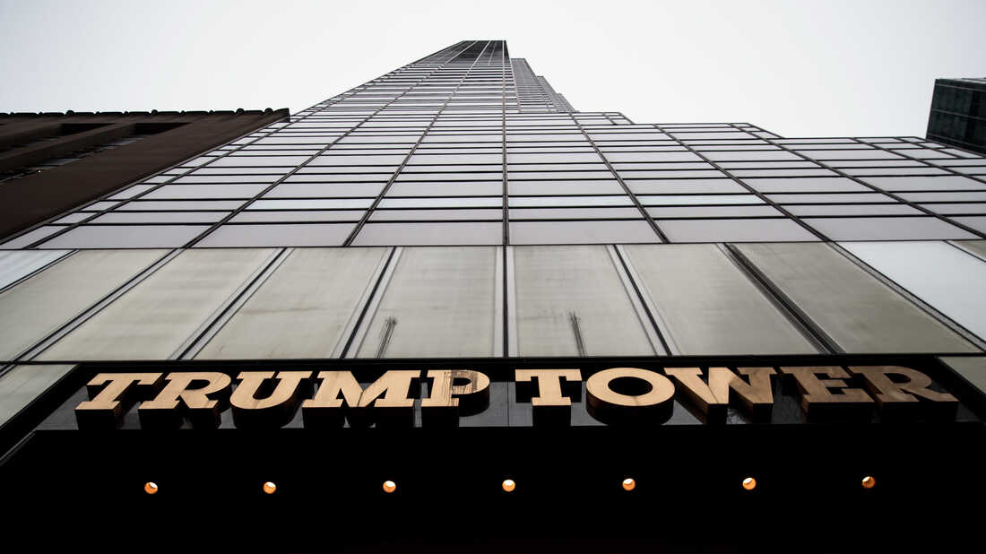 A view of Trump Tower, March 7, 2017, in New York City.