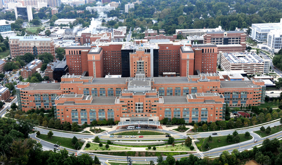 The National Institutes of Health is based in Bethesda, Md., but the vast majority of its research funding flows to universities around the country. (NIH/Flickr)