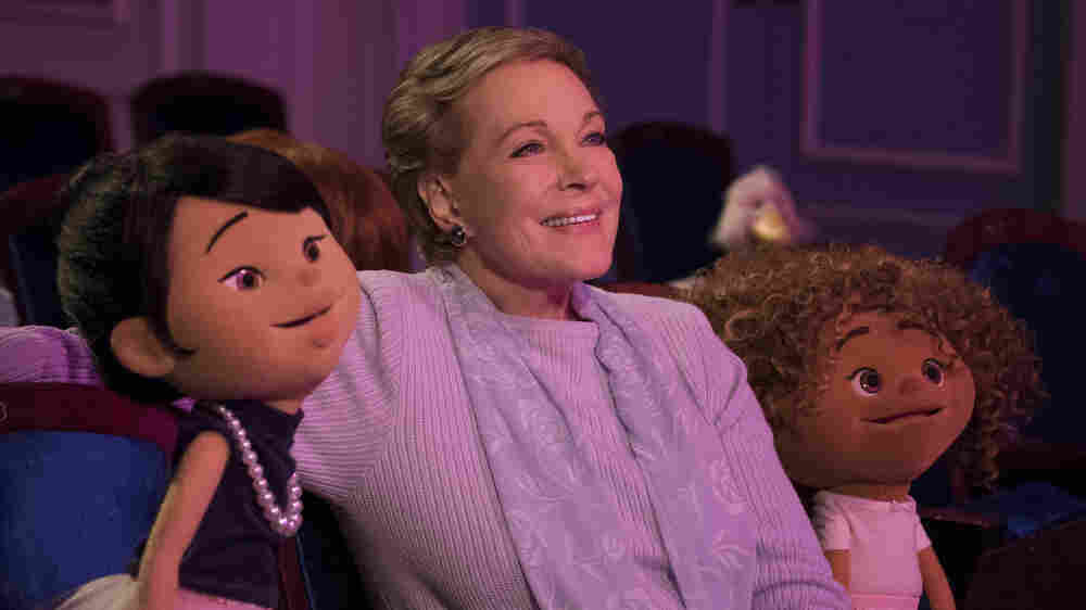 Julie Andrews Teams Up With Henson Puppets In Netflix's 'Greenroom'