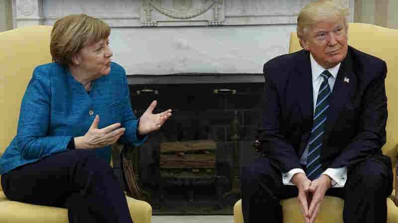 The Axis Of Awkward: When Merkel Met Trump