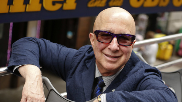 Musician Paul Shaffer on May 5, 2015 in New York City.