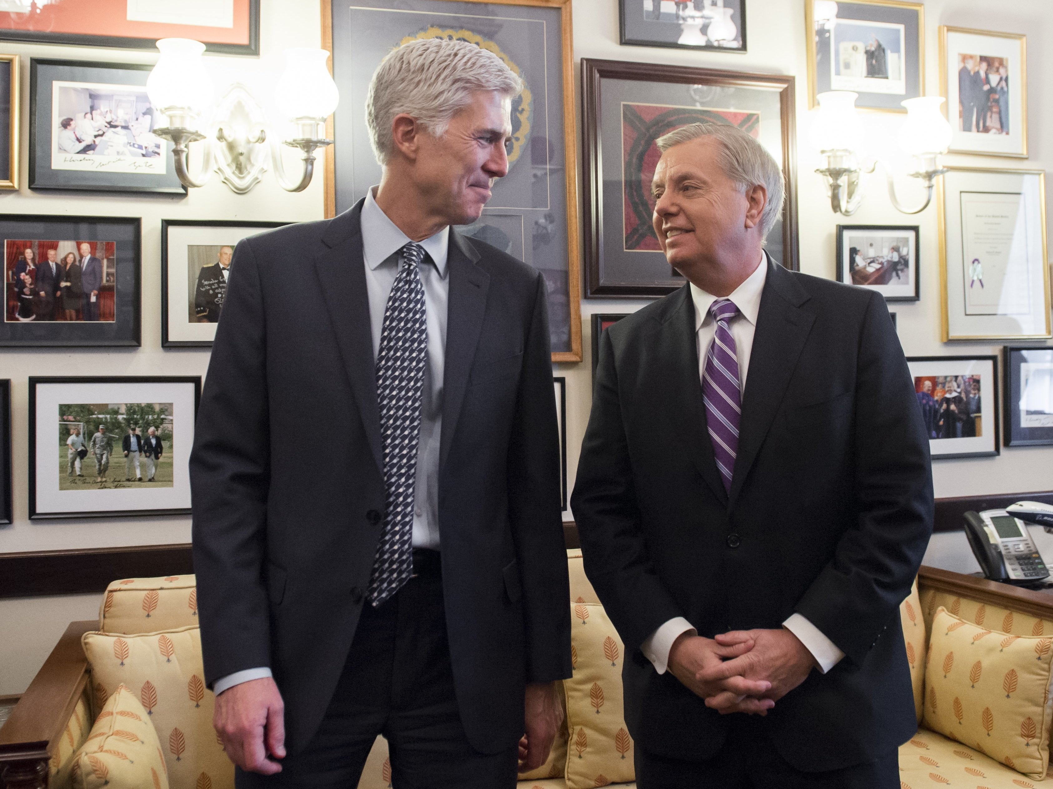 Sen. Graham says Democrats can't show Gorsuch is unqualified for Supreme Court