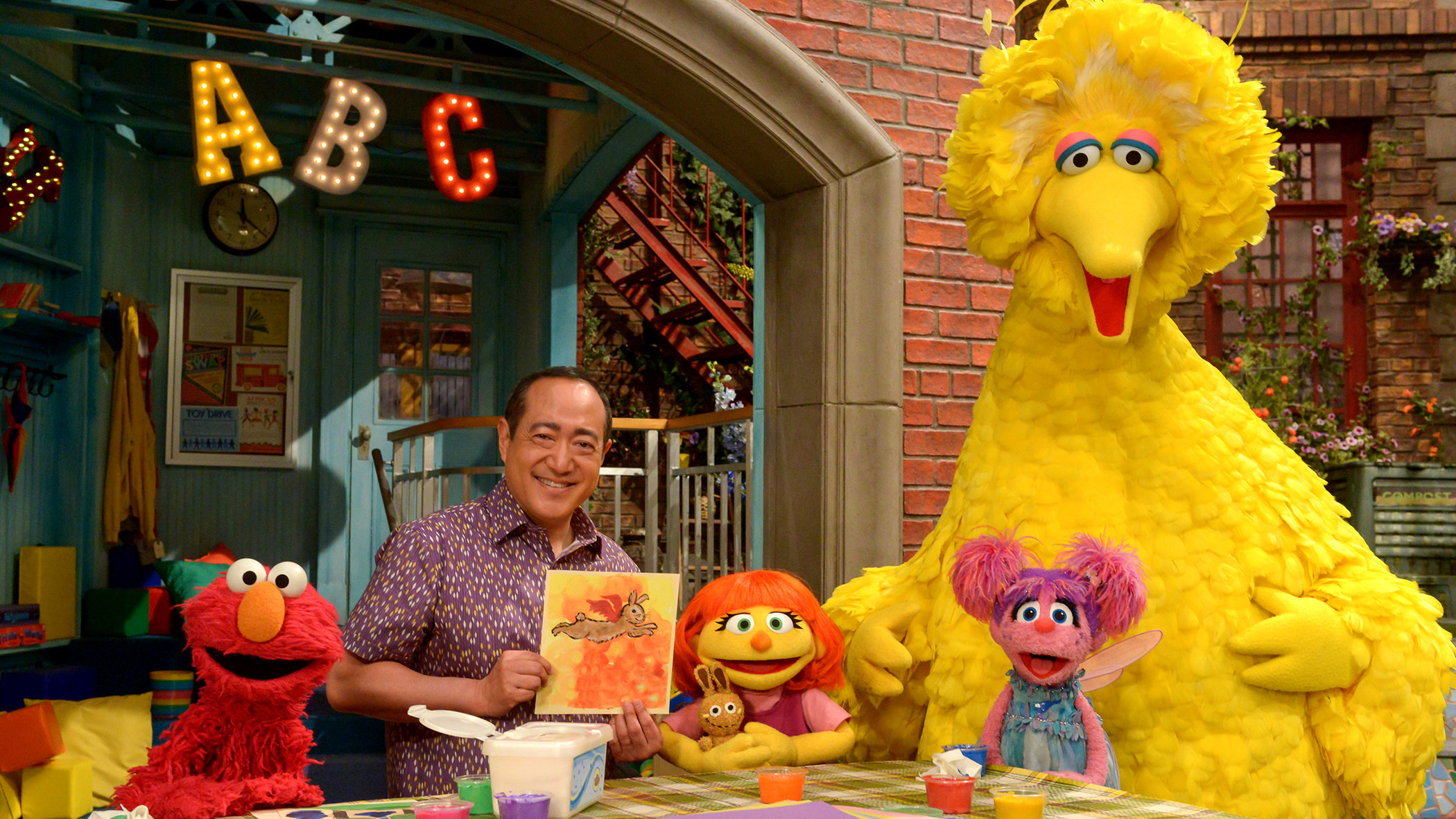 Image for Julia, A Muppet With Autism, Joins The Cast Of 'Sesame Street' Article
