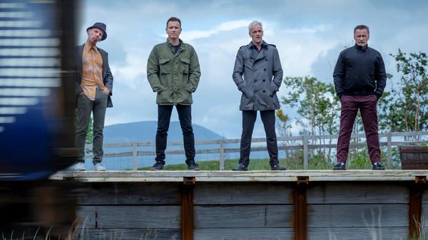 Getting the band back together: Ewen Bremner, Ewan McGregor, Jonny Lee Miller and Robert Carlyle return for T2 Trainspotting.