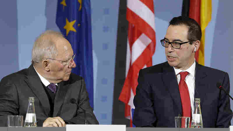 At Mnuchin's First Big Meeting, G20 Shies From Endorsing Free Trade