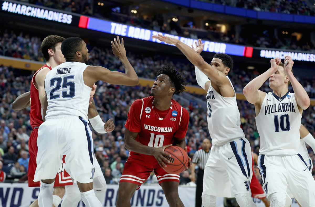 March Madness 2017: Wisconsin Upsets NCAA Champions ...