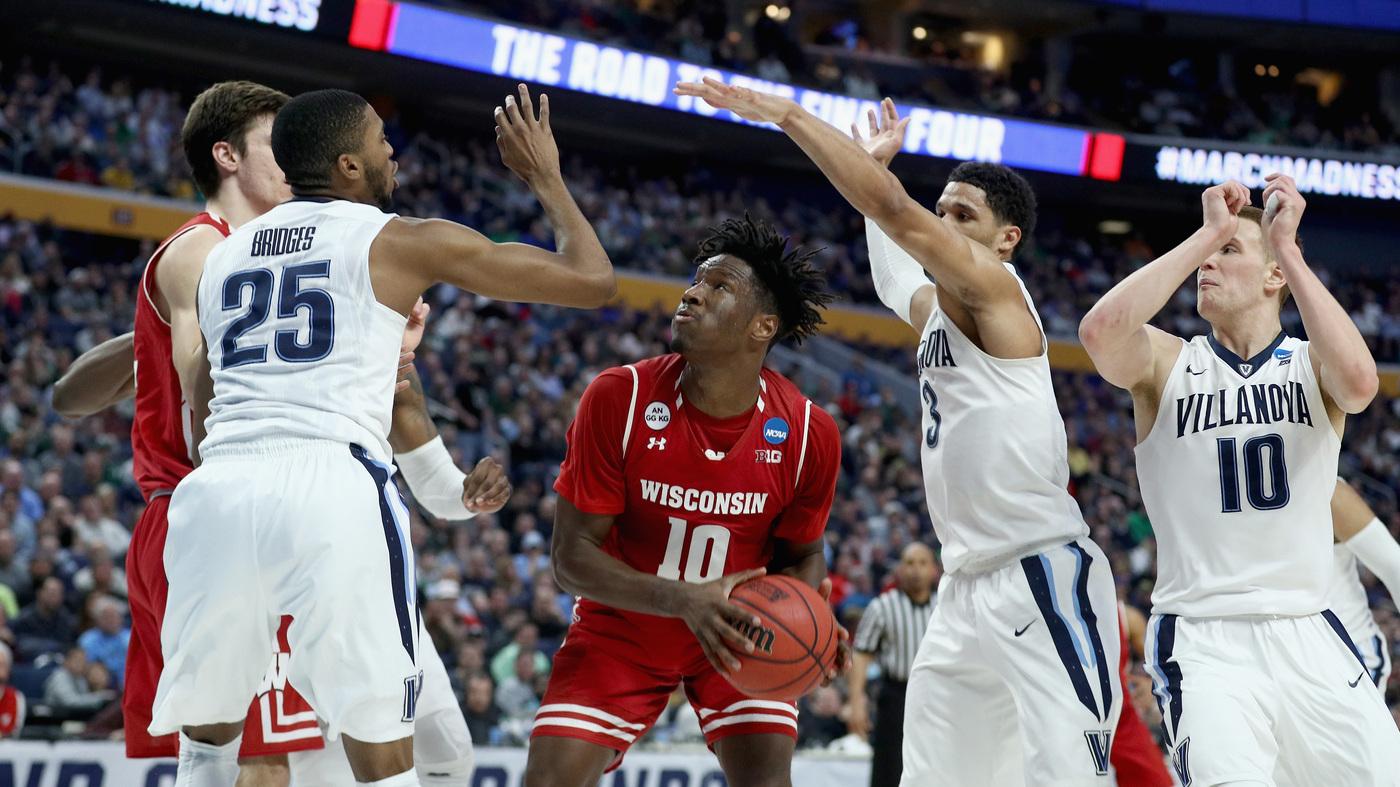 9b29ad12f March Madness 2017  Wisconsin Upsets NCAA Champions Villanova   The Two-Way    NPR (3.22 37)