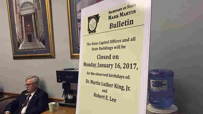 Arkansas Splits Its Holidays For Martin Luther King Jr. And Robert E. Lee