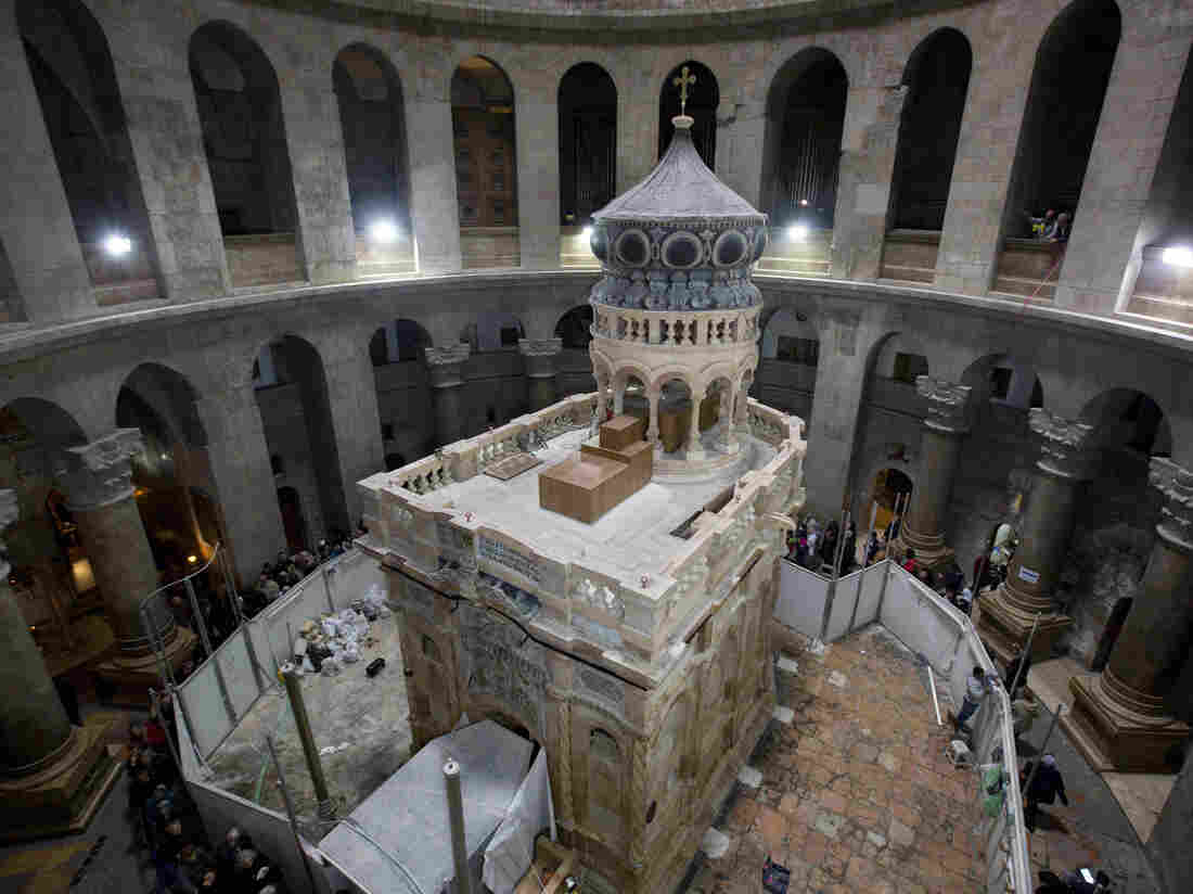 Jesus' Tomb To Be Unveiled To Public After Nine-Month Renovation