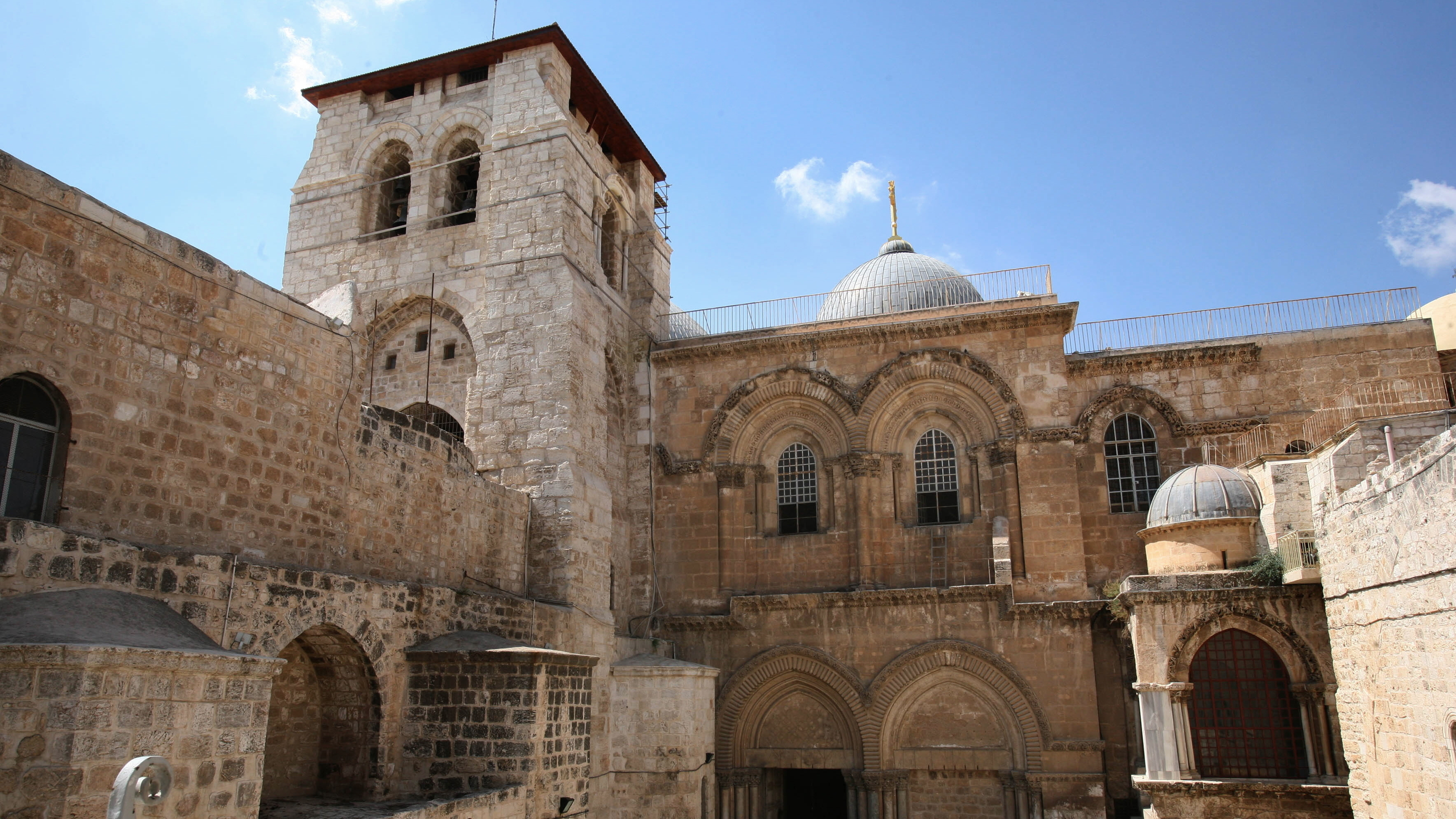 Image for Tomb Of Jesus Is Restored In Jerusalem Article