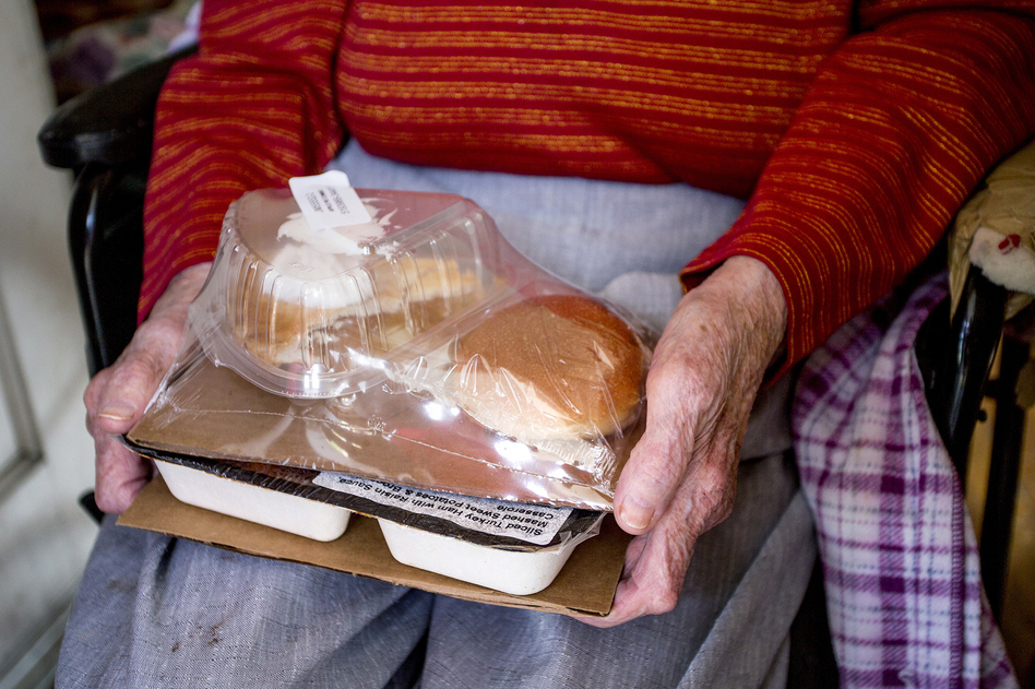 Southern Maine Agency on Aging's Meals on Wheels program. (Gabe Souza/Portland Press Herald/Getty Images)