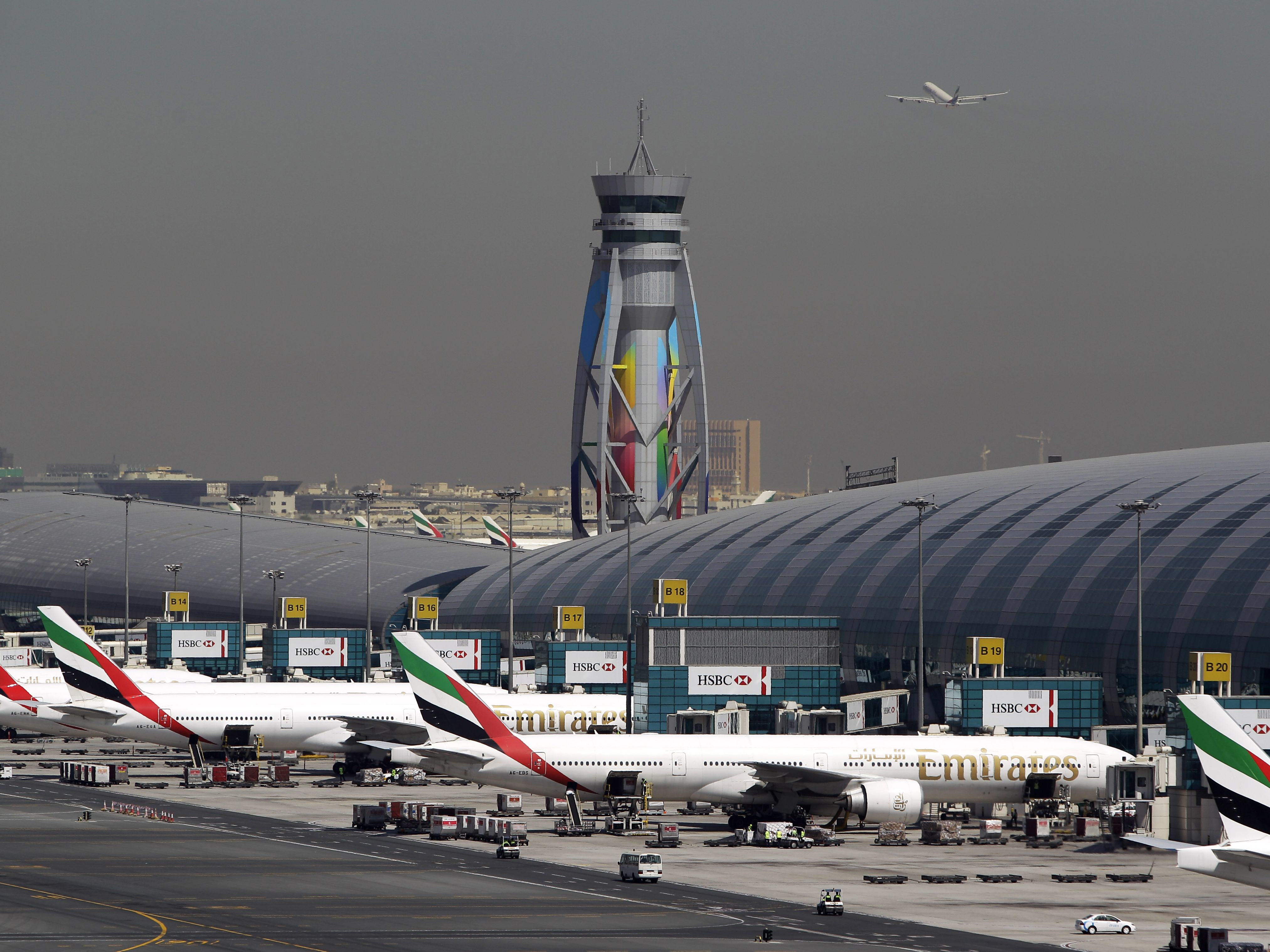 Blue apron npr - Emirates Passenger Planes Are Parked At Their Gates At Dubai International Airport In The United Arab Emirates The U S Restrictions Require Most