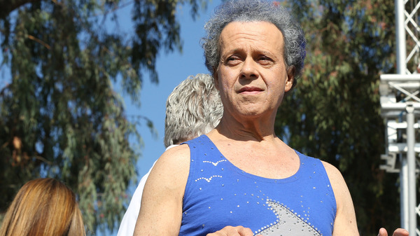 Fitness celebrity Richard Simmons, shown onstage in October 2013, has been out of the public eye for years.