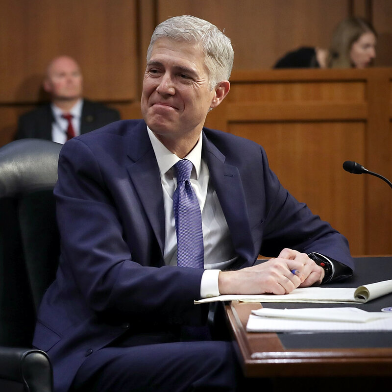 Gorsuch Hearing For Top Court Lacks The High Drama Of Those In Recent Past
