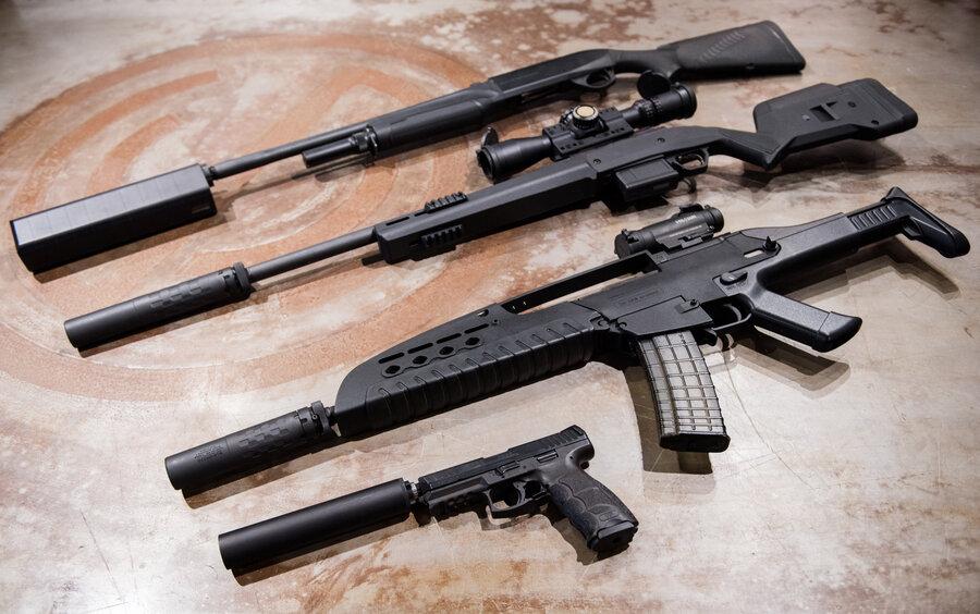 "Gun ""Silencers"" Don't Make Them Anywhere Near Silent"