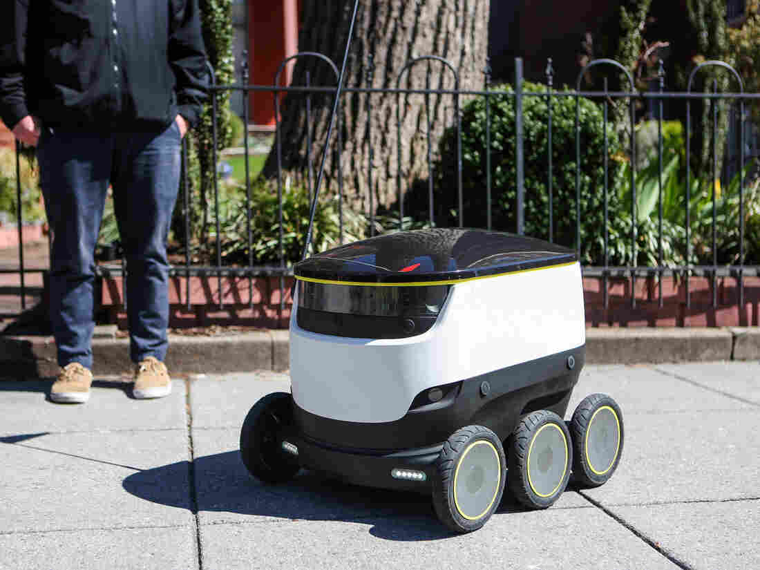 Image result for delivery bot