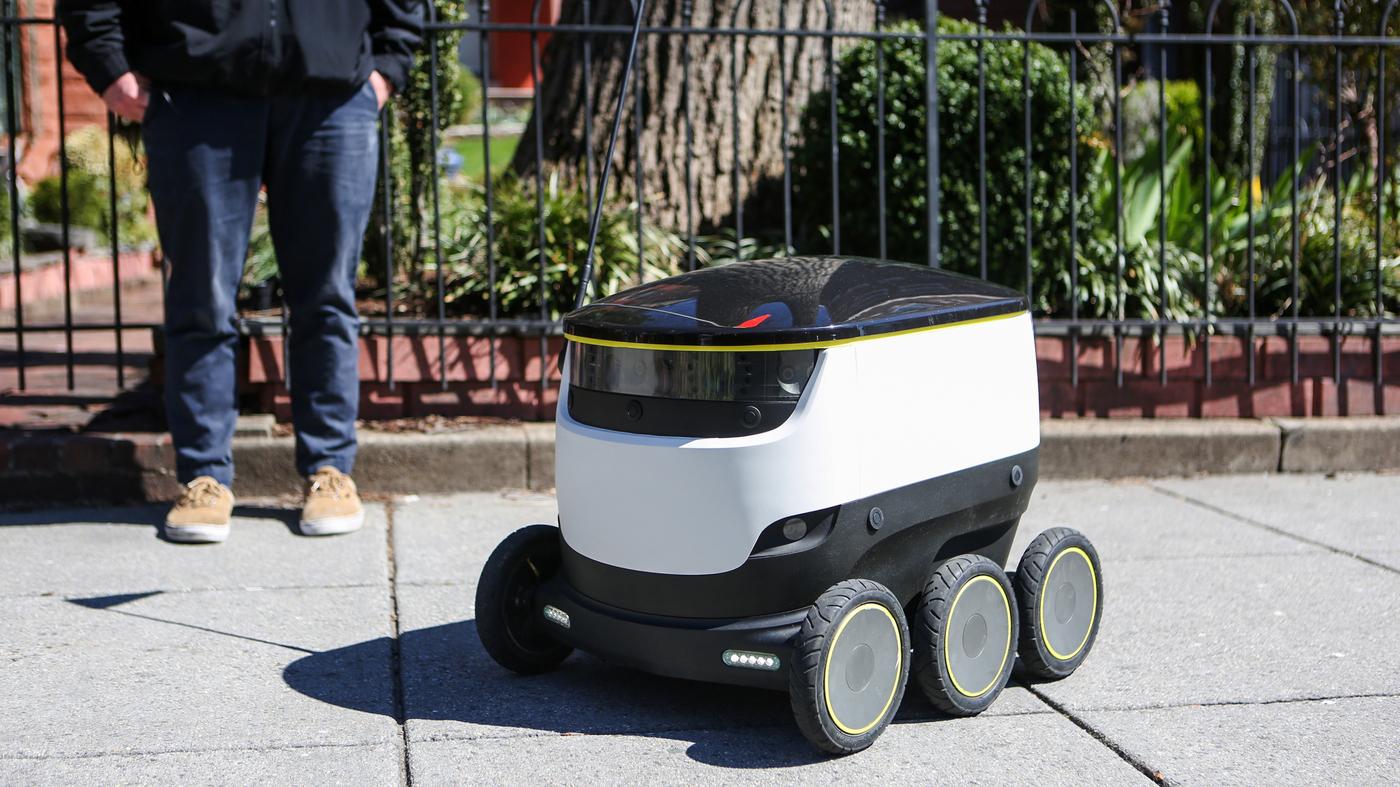 Hungry? Call Your Neighborhood Delivery Robot