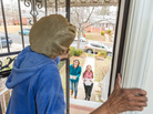 One client receives food from Meals on Wheels. Most of the federal money for the program comes through the Older Americans Act. That's part of the Department of Health and Human Services budget, which is slated for a cut of nearly 18 percent.