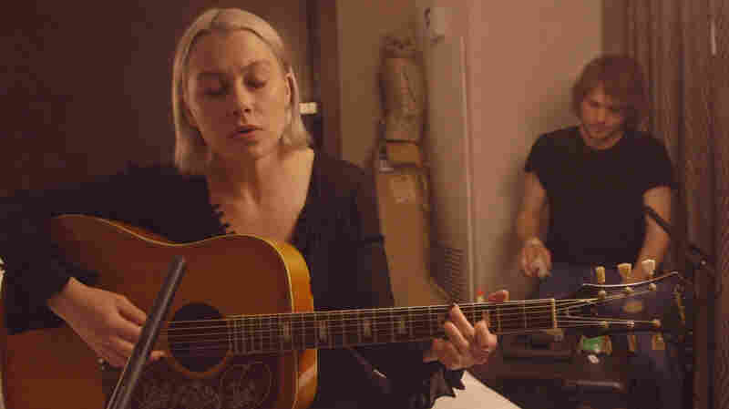 Watch Phoebe Bridgers' Quiet And Powerful 'Smoke Signals,' Played In A Hotel Room