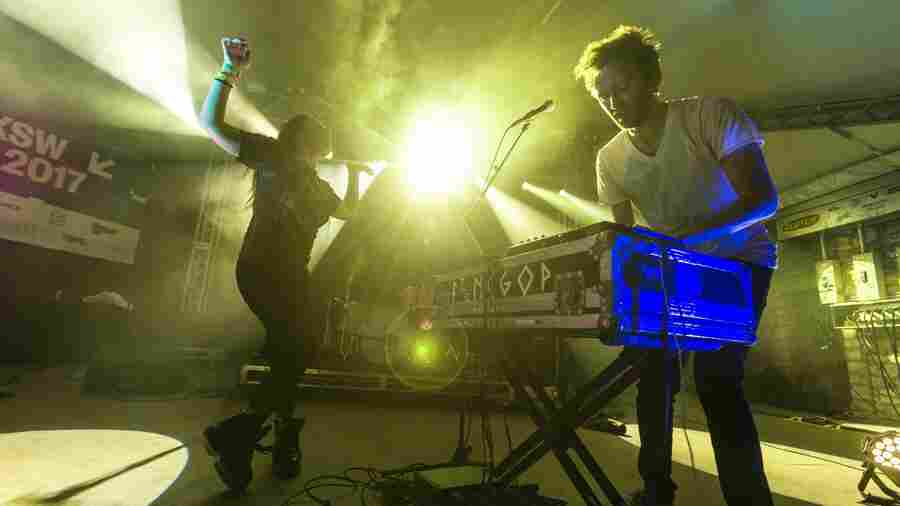 Watch Sylvan Esso Bring Bass And Twists To NPR Music's SXSW Showcase