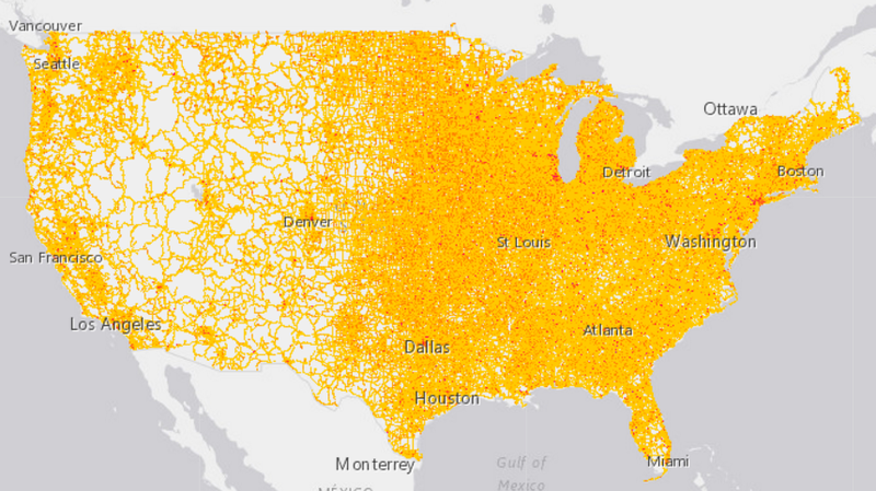 How Noisy Is Your Neighborhood? Now There\'s A Map For That ...