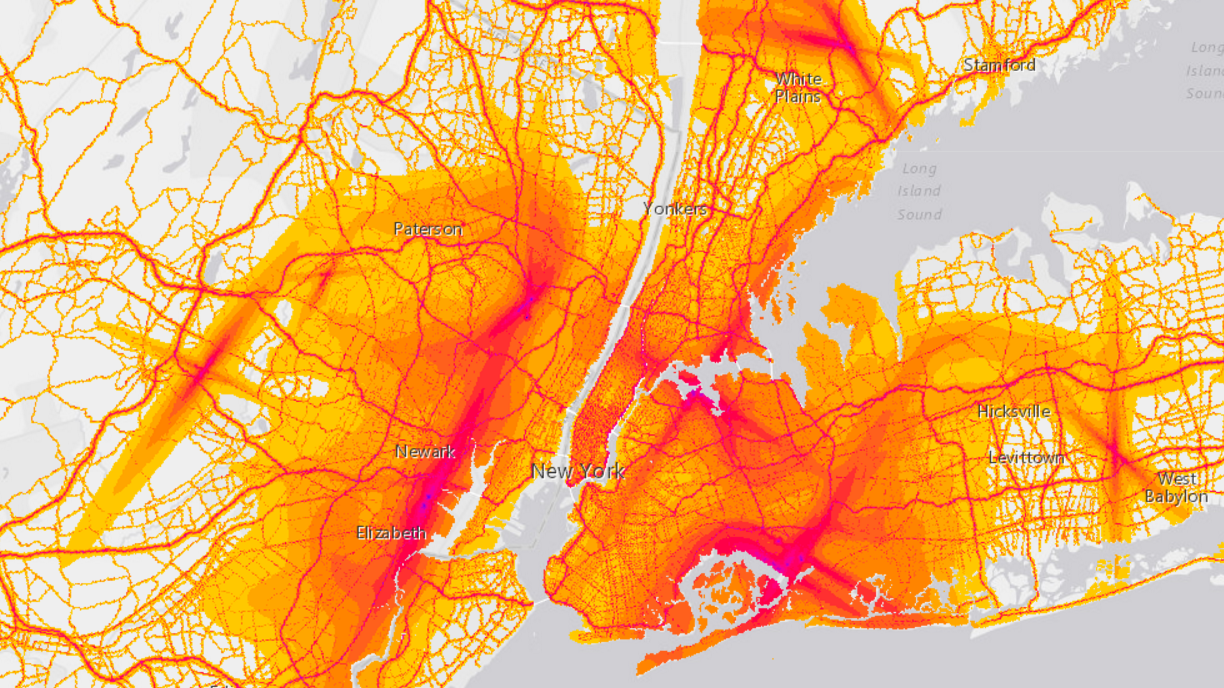 How Noisy Is Your Neighborhood? Now There's A Map For That