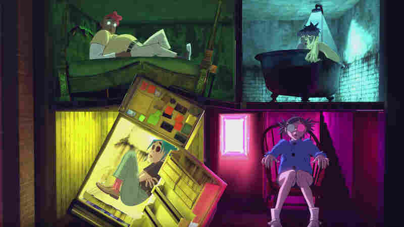 Gorillaz Announces New Album, Hits Haunted House In 'Saturnz Barz' Video